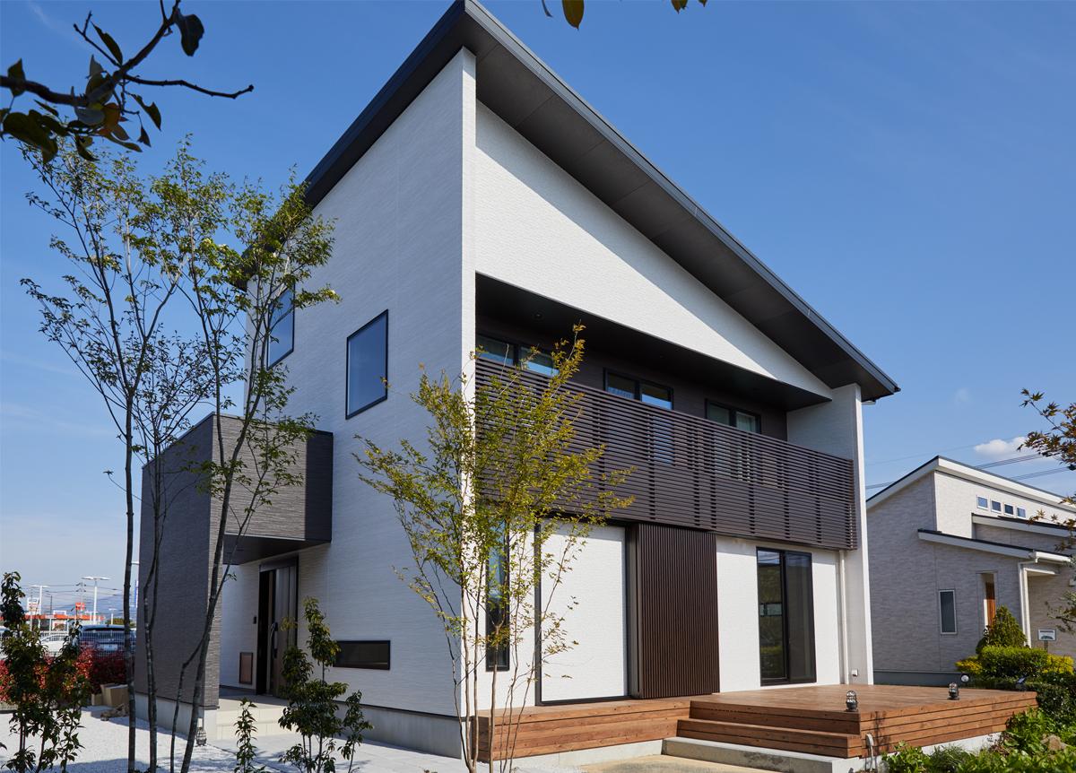 2階建てモデルハウス